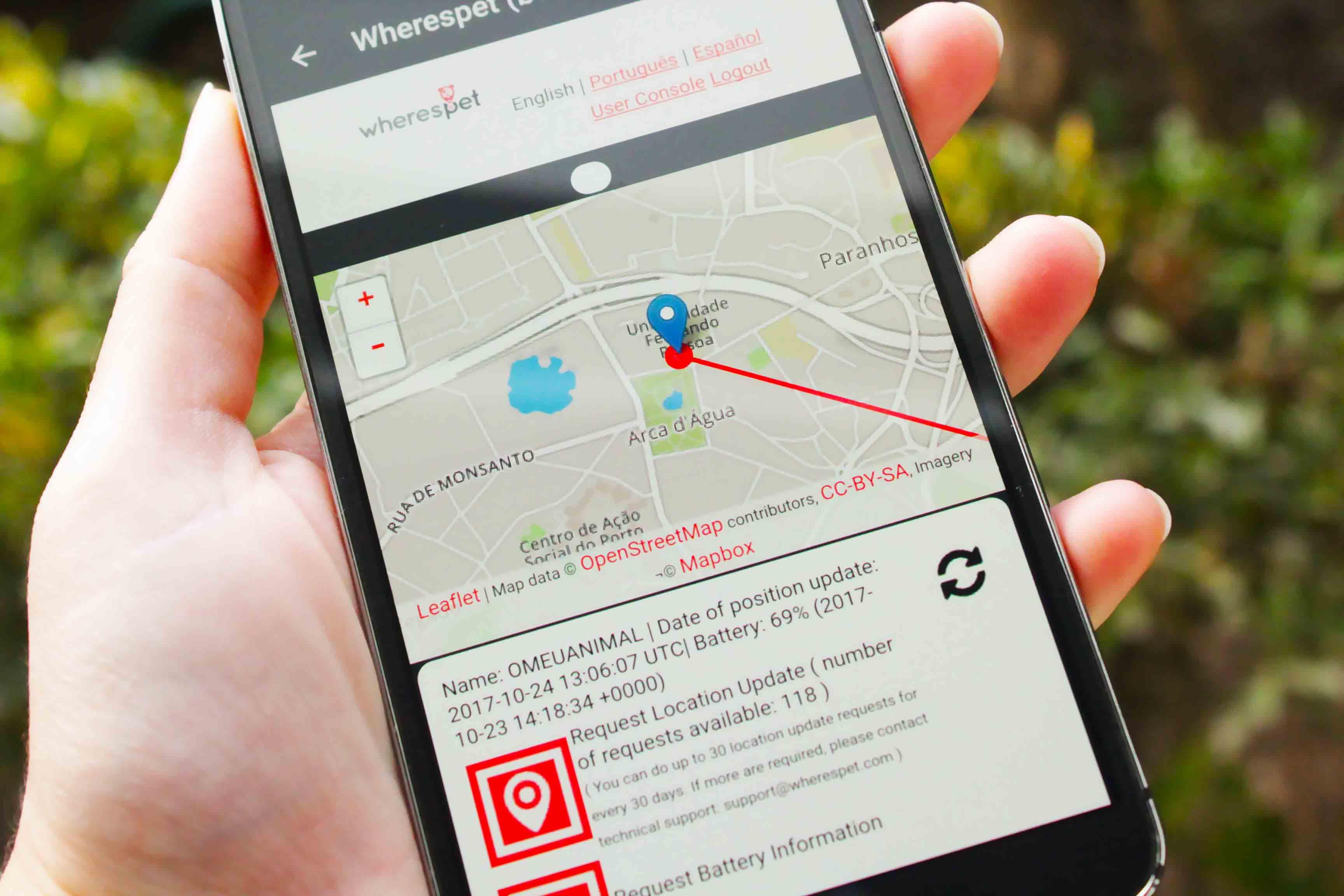 Wherespet - GPS Locator for Pets